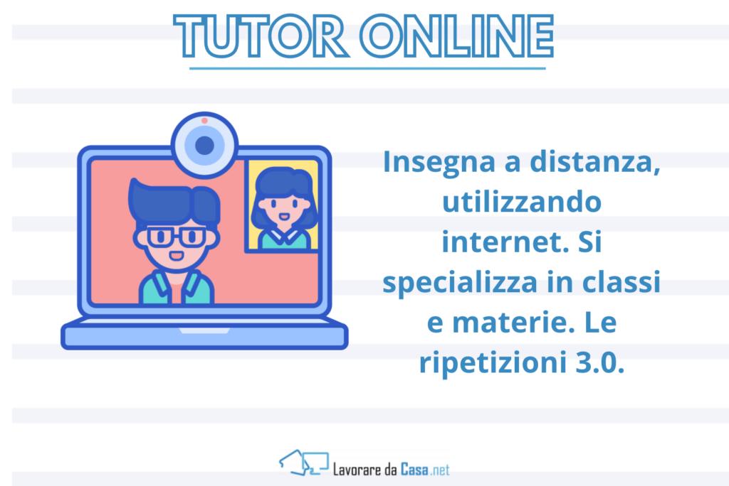 Tutor Online - infografica